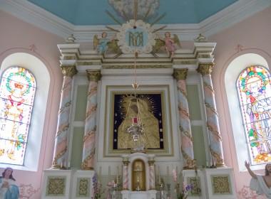 Gelvonų Švč. Mergelės Marijos Apsilankymo bažnyčios statinių kompleksas