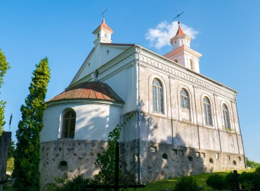 Plungės kapinių Visų Šventųjų koplyčia