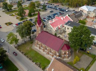 Kretingos evangelikų liuteronų bažnyčios pastatų kompleksas